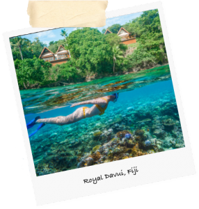 fiji travel snorkel water beach ocean vacation luxury cruise family reunion